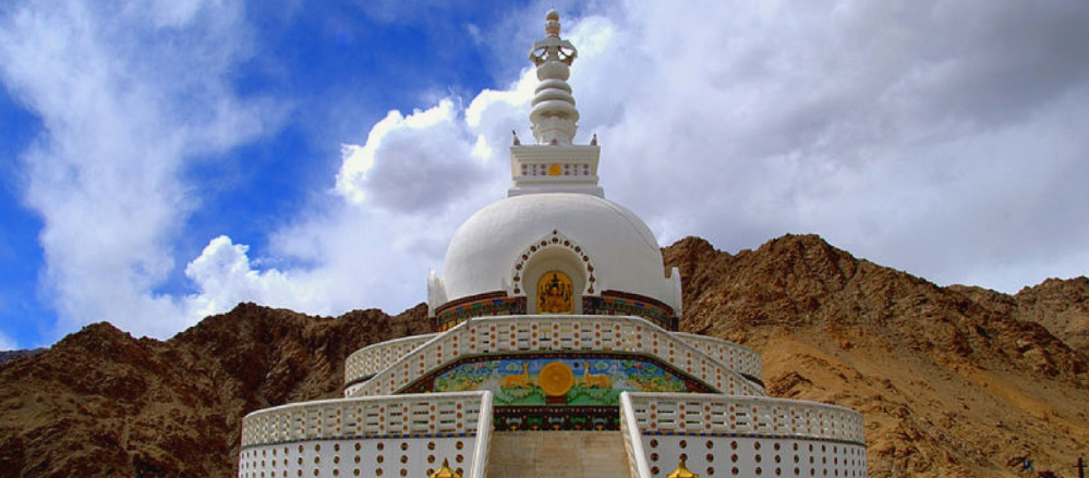 Shanti Stupa - Dogether